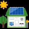 とある日の発電量と売電量(10月17日)(一条工務店のi-smart・i-cube)